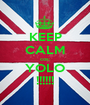 KEEP CALM cos: YOLO !!!!!! - Personalised Poster A1 size
