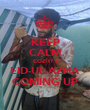KEEP CALM COZ IT's EID-UL-AZHA COMING UP - Personalised Poster A1 size