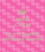 KEEP CALM coz its my jaana's birthday month - Personalised Poster A1 size