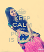KEEP CALM COZ. PUKUU IS BACK - Personalised Poster A1 size
