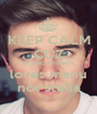 KEEP CALM CUZ CONNOR FRANTA loves manu not stella - Personalised Poster A1 size
