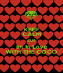 KEEP CALM CUZ Im In Love WITH THE COCO - Personalised Poster A1 size