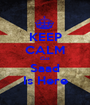 KEEP CALM Cuz Saad Is Here - Personalised Poster A1 size