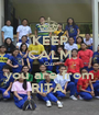 KEEP CALM Cuz you are from RITA  - Personalised Poster A1 size