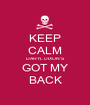 KEEP CALM DARYL DIXON'S GOT MY BACK - Personalised Poster A1 size