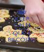 KEEP CALM E ADMITA QUE É BISCOITO - Personalised Poster A1 size