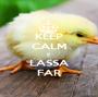 KEEP CALM E LASSA FAR - Personalised Poster A1 size