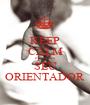 KEEP CALM e procure  SEU ORIENTADOR - Personalised Poster A1 size