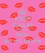 KEEP CALM estoy muy feliz en mi casita - Personalised Poster A1 size