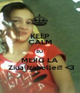 KEEP CALM EU  MERG LA  Ziua Izabellei!! <3 - Personalised Poster A1 size