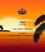 KEEP CALM FALTAM 4 MESES 9 DIAS 19 HORAS E 15 MINUTOS... - Personalised Poster A1 size