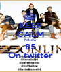 KEEP CALM Follow  B5 On twitter - Personalised Poster A1 size