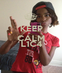 KEEP CALM FOR L1C4  - Personalised Poster A1 size