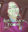 KEEP CALM HAPPY 18TH BIRTHDAY TO ME - Personalised Poster A1 size