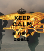 KEEP CALM i am a navy seals  - Personalised Poster A1 size