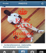 KEEP CALM I Am My Brothers Keeper - Personalised Poster A1 size