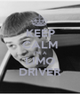 KEEP CALM I'M A LIMO DRIVER - Personalised Poster A1 size