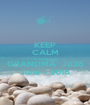 KEEP CALM I'm going to be GRANDMA  JoJo June - 2016 - Personalised Poster A1 size