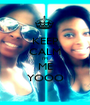 KEEP CALM I'M ME YOOO - Personalised Poster A1 size