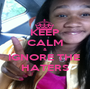 KEEP CALM & IGNORE THE  HATERS - Personalised Poster A1 size