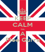 KEEP CALM Im A Flee Gurra - Personalised Poster A1 size