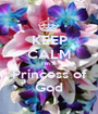 KEEP CALM I'm a  Princess of God - Personalised Poster A1 size