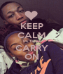 KEEP CALM Im Taken CARRY ON - Personalised Poster A1 size