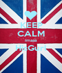 KEEP CALM Imaaa HisGurl  - Personalised Poster A1 size