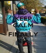 KEEP CALM ISHMEAL'S FINALLY 16 - Personalised Poster A1 size
