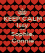 KEEP CALM Issy And Sophie, Connie - Personalised Poster A1 size