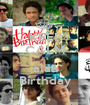 KEEP CALM it's alaa Birthday - Personalised Poster A1 size