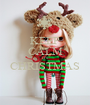 KEEP CALM It's CHRISTMAS  - Personalised Poster A1 size