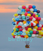 KEEP CALM it's  essa's birthday  - Personalised Poster A1 size
