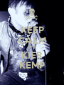KEEP CALM IT'S  KIER KEMP - Personalised Poster A1 size