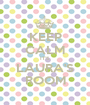 KEEP CALM IT'S  LAURA'S ROOM - Personalised Poster A1 size