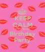 KEEP CALM It's mientje Birthday Party - Personalised Poster A1 size