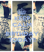 KEEP CALM IT'S MY BIRTHDAY TODAY!! - Personalised Poster A1 size