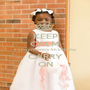 KEEP CALM it's my princess's 7th birthday CARRY ON - Personalised Poster A1 size