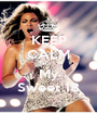 KEEP CALM It's  My Sweet 18 - Personalised Poster A1 size