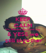 KEEP CALM It's National Boyfriend Day & YESS we  still together - Personalised Poster A1 size