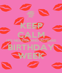 KEEP CALM IT'S NEATHA AND ALISHAS BIRTHDAY WEEK - Personalised Poster A1 size