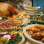 KEEP CALM IT'S THANKS GIVING - Personalised Poster A1 size