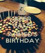 KEEP CALM Its AHMED'S BIRTHDAY - Personalised Poster A1 size
