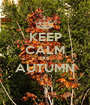 KEEP CALM IT'S AUTUMN  - Personalised Poster A1 size