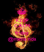 KEEP CALM it's friday @melia nda - Personalised Poster A1 size
