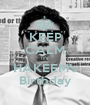 KEEP CALM It's HAKEEM's Birthday - Personalised Poster A1 size
