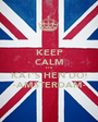 KEEP CALM IT'S  KAT'S HEN DO! -AMSTERDAM- - Personalised Poster A1 size