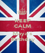 KEEP CALM It's Maya's Birthday - Personalised Poster A1 size