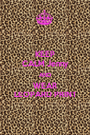 KEEP CALM Jenny AND WEAR LEOPARD PRINT - Personalised Poster A1 size
