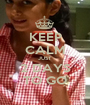 KEEP CALM JUST  2 DAYS TO GO - Personalised Poster A1 size